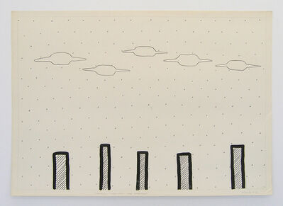 Vadim Fishkin, 'Geo-graphic (Five UFOs above the Factory)', 1989-2005
