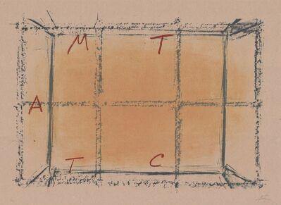 Antoni Tàpies, 'Llambrec material XVIII', 1970-1980