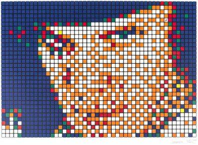 Invader, 'Rubik Kubrick I - (Alex)', 2006