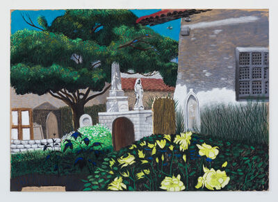 Cole Case, 'Mission Dolores Cemetery 5.1.17', 2017