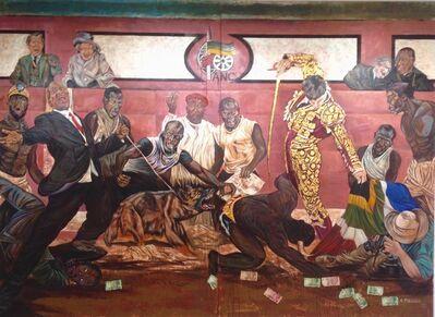Ayanda Mabulu, 'Black man's cry', 2013