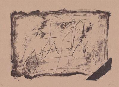Antoni Tàpies, 'Llambrec material XI', 1970-1980
