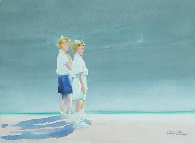 Dalva Duarte, 'Beach Scene III', 1980-1990