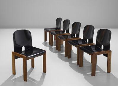Tobia Scarpa, 'Set of Six Chairs Model 121', ca. 1965