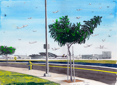 Cole Case, 'LAX 9.29.15 Looking 150 Degrees Southeast', 2015