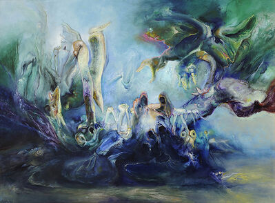 James Gleeson, 'Cythera Revisted', 1998