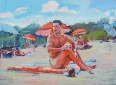 McWillie Chambers, 'Florida Beach - Umbrellas', 2016