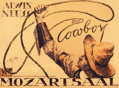 Josef Fenneker, 'The Cowboy - Alwin Neuss ', 1918