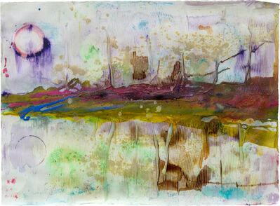 Frank Bowling, 'Onthrough', 2011