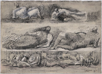 Henry Moore, 'Reclining Figures', 1942