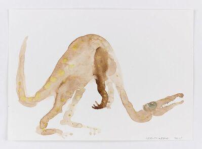 Francis Upritchard, 'Dinosaur with Bad Neck', 2015