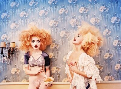 David LaChapelle, 'Milk Maidens, Paris', 1996