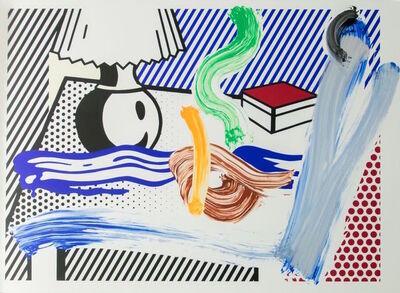 Roy Lichtenstein, 'Brushstroke Still Life with Lamp', 1997