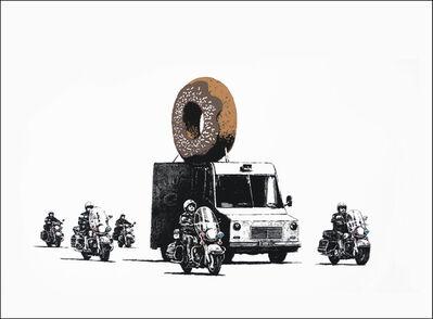 Banksy, 'Donuts (Chocolate) ', 2009