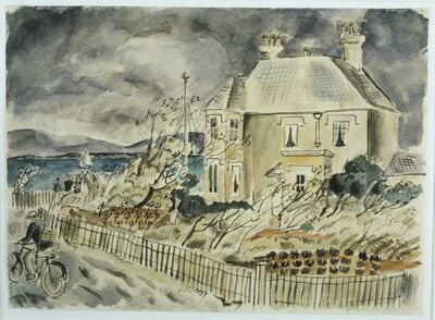 Christopher Wood, 'House by the Sea', 1925