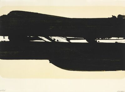Pierre Soulages, 'Lithographie no. 39', 1977