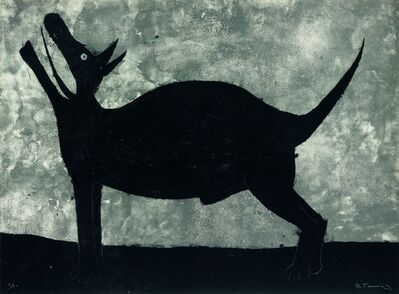 Rufino Tamayo, 'Perro', 1975