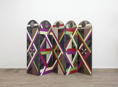 Jojo Chuang, 'Folding Screen from Graphic Utopia', 2014