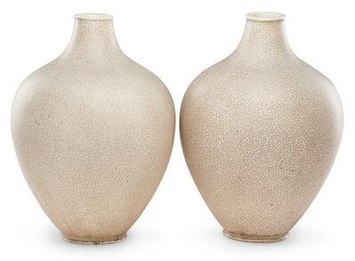 Primavera, 'Pair Of Primavera Art Deco Vases', 20th c.