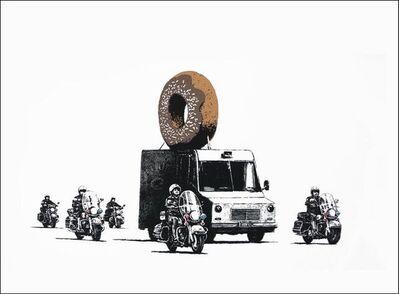 Banksy, 'Donuts (Chocolate)', 2007