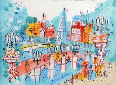 Charles Cobelle, 'Paris Cityscape with Eiffel Tower', ca. 1960