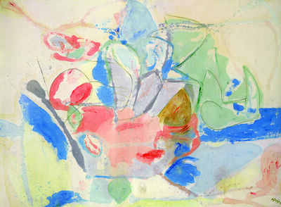 Helen Frankenthaler, 'Mountains and Sea', 1952