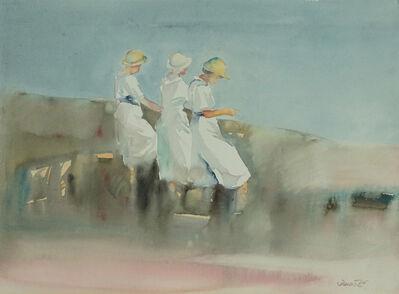 Dalva Duarte, 'Beach Scene XV', 1980-1990
