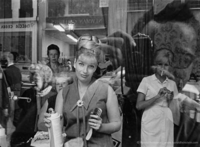 Harold Feinstein, 'Beauty Parlor Window', 1964