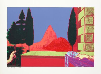 Andy Warhol, 'Details of Renaissance Paintings (Leonardo Da Vinci, The Annunciation, 1472), II.323', 1984
