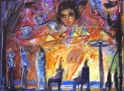 Carlos Almaraz, 'Baby Face', 1986