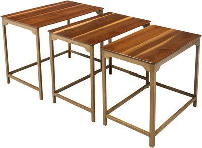 Edward Wormley, 'Three Nesting Tables, Model 4785'