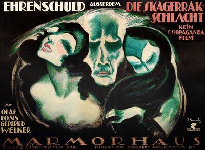 Josef Fenneker, 'Ehrenschuld and Die Skagerrak Schlacht - Marmorhaus Theater', 1921