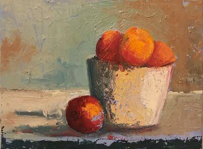 JoAnn Augur, 'A Pot of Oranges', 2018