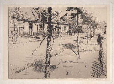 Albert Baertsoen, 'A Street in Flanders', ca. 1900