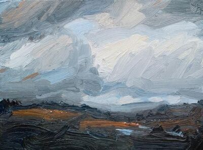 Robert Newton, 'Waterlogged Fields', 2018
