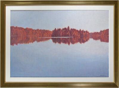 Howard Schroedter, 'Red Shore Line', 1987