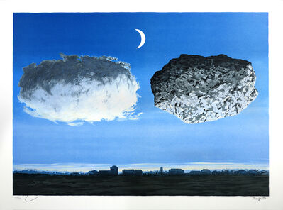 René Magritte, 'La Bataille de l'Argonne (The Battle of the Argonne)', 2004