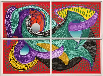 David Hockney, 'Going Round', 1994