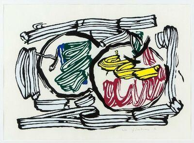 Roy Lichtenstein, 'Two Apples', 1983