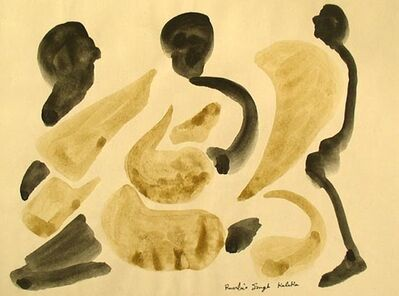 Ranbir Kaleka, 'Untitled (Three Leaning Men)', ND