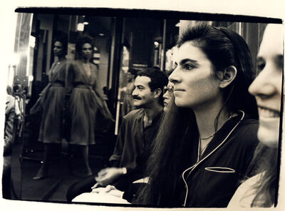 Andy Warhol, 'Andy Warhol, Photograph of Victor Hugo and a Woman at Halston Fashion Show, 1979', 1979