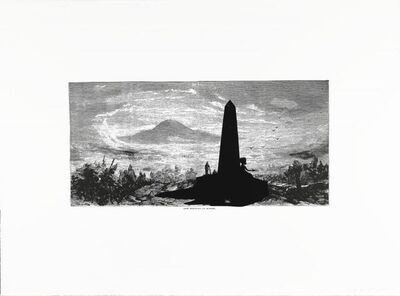Kara Walker, 'Lost Mountain at Sunrise, from the portfolio Harper's Pictorial History of the Civil War ', 2005