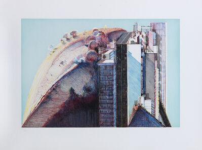 Wayne Thiebaud, 'Country City', 1988