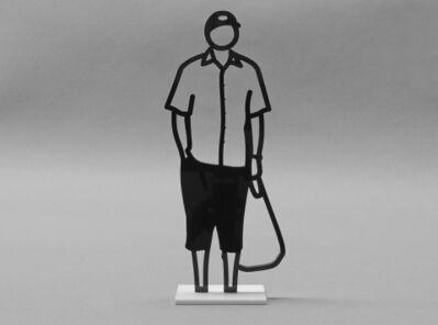 Julian Opie, 'Plastic Bag', 2018