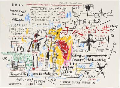 Jean-Michel Basquiat, 'Boxer Rebellion 1982-83/2018 ', 2018