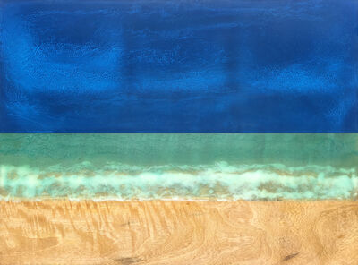 Timothy Allan Shafto, 'Relaxing in the Sand 30x40', 2018