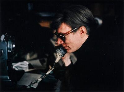 Nat Finkelstein, 'Warhol on Phone', 1966