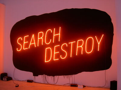 Lori Hersberger, 'SEARCH / DESTROY', 2004