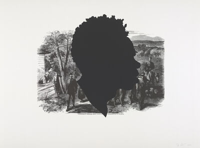 Kara Walker, 'Harper's Pictorial History of the Civil War (Annotated): Confederate Prisoners Being Conducted from Jonesborough', 2005