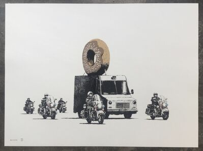Banksy, 'Chocolate Donut', 2009